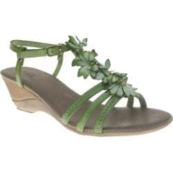 Women's Azura Marakesh Green Leather