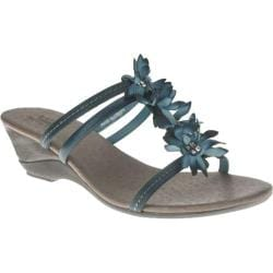 Women's Azura Mardigras Blue Leather