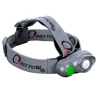 Quarrow Fishing Tri Eye Green Head Lamp