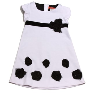 Funkyberry Girls Cap Sleeve 'Ponte de Roma' Dress