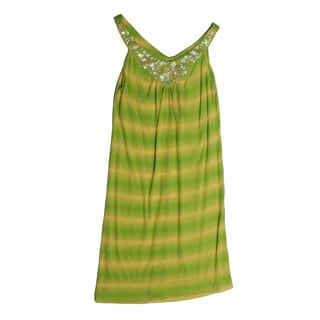 Funkyberry Girls Sleeveless Tie-dye Dress