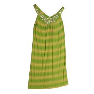 Funkyberry Girls Sleeveless Tie-dye Dress