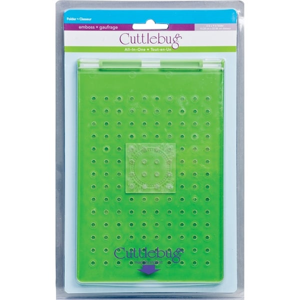 Cuttlebug All-In-One Embossing Folder 6X9in