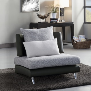 'Khloe' Modern Monochromatic Upholstered Chair