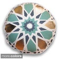 18-inch Round Kaleidescope Decorative Throw Pillow