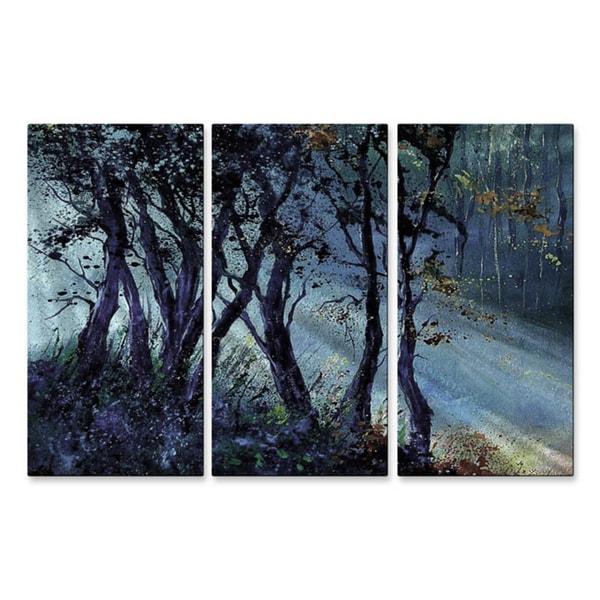 Pol Ledent 'Peaking Rays' Wall Art 10949257
