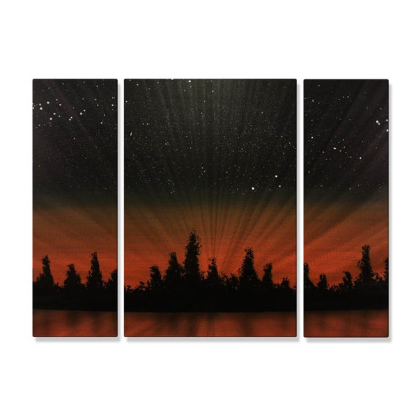 Justin Strom 'At Days End' Wall Hanging