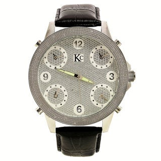 Techno Com Men's Diamond-accented Watch