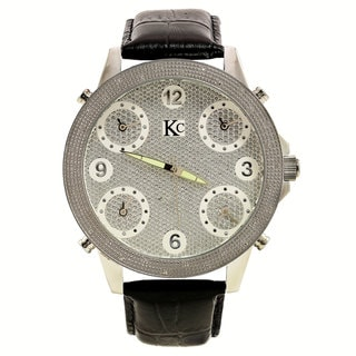 Techno Com Men's 'Joe Rodeo' Diamond-accented Watch