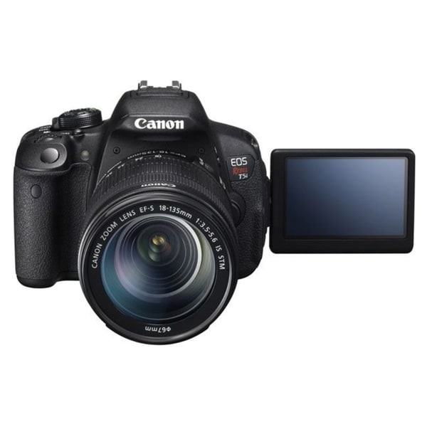 Canon EOS Rebel T5i 18MP Digital SLR Camera with 18-135mm Lens
