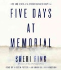 Five Days at Memorial (CD-Audio)