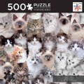 Cat Montage: 500 Pieces (General merchandise)
