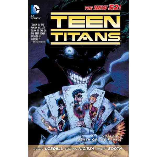 Teen Titans 3: Death of the Family (The New 52!) (Paperback) 10952213