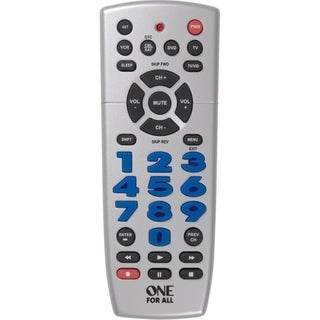 VOXX One For All CURC4110 4 Device Universal Remote Control