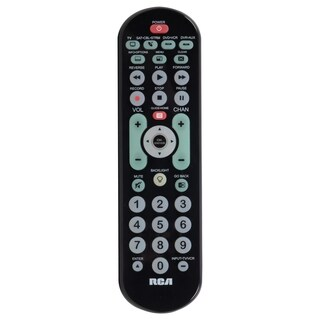 RCA RCRBB04GR Universal Remote Control