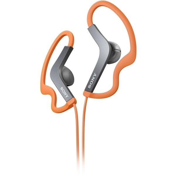 Sony Stereo Headphones; Orange