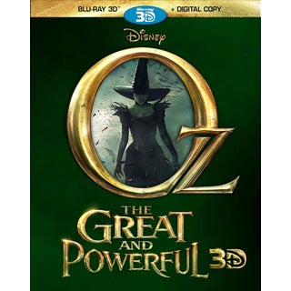 Oz The Great And Powerful 3D (Blu-ray Disc)