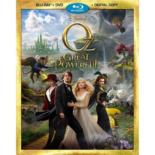 Oz The Great And Powerful (Blu-ray/DVD) 10953906