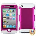 MYBAT Pink/ White TUFF Case for Apple iPod Touch Generation 4