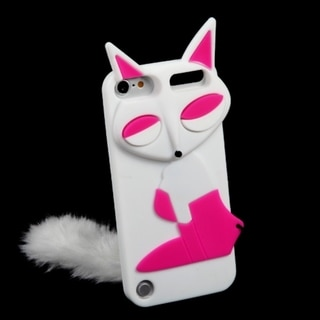 MYBAT White Fox Case for Apple iPod Touch Generation 5