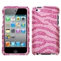 MYBAT Zebra Diamond Case for Apple iPod Touch Generation 4