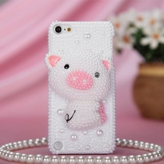 MYBAT Simple Pig Pearl Case for Apple iPod Touch Generation 5