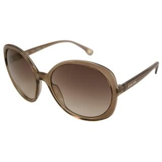 Michael Michael Kors Women's M2802S Haleigh Plastic Round Sunglasses