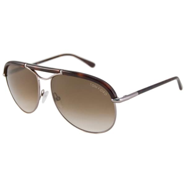 tom ford men 39 s tf0235 marco aviator sunglasses 15300249 overstock. Cars Review. Best American Auto & Cars Review