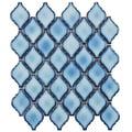 SomerTile 11 x 9.75-inch Casablanca Aella Porcelain Mosaic Tile (Pack of 10)