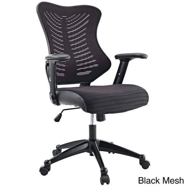 Clutch Office Chair with Black Mesh Back and Seat