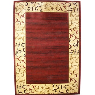 Bursa Burgundy Accent Rug (1&#39;10 x 2&#39;10)