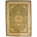 Bursa Green Area Rug (5'3 x 7'3)