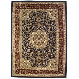 Ephesus Blue Area Rug (7&#39;11 x 7&#39;11)
