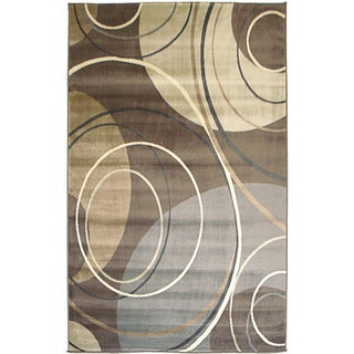 Solaris Gray Area Rug (6'6 x 9'5)