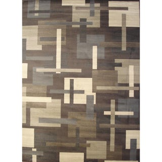 Images Brown Area Rug (5'2 x 7'6)