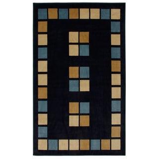 Blue Paver Area Rug (7'10x10'11)