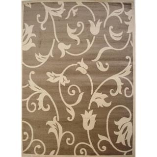 Fleur Beige/ Ivory Area Rug (1'10 x 2'11)