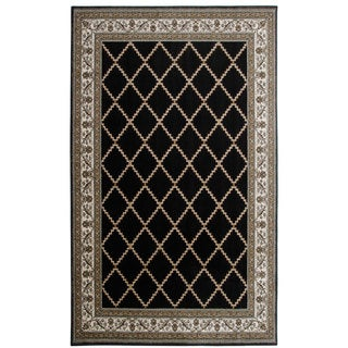 Provence Black Accent Rug (1'10x2'11)
