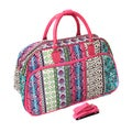 World Traveler Fashion/Travel Artisan 21-inch Carry On Shoulder Tote Duffel Bag