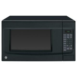GE Black 1.4-cubic foot Countertop Microwave Oven