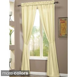 Berkshire Microfiber 84-inch Curtain Panel Pair