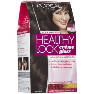 L'oreal Paris Darkest Brown/Espresso 3 Healthy Look Creme Gloss Color