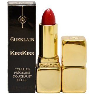Guerlain KissKiss 521 Red Strass Lipstick