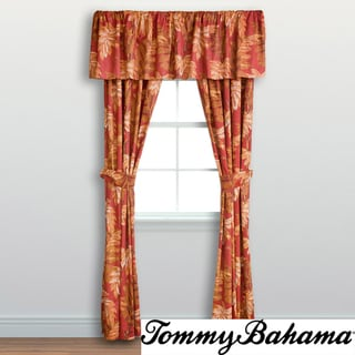 Tommy Bahama Orange Cay Cotton Valance