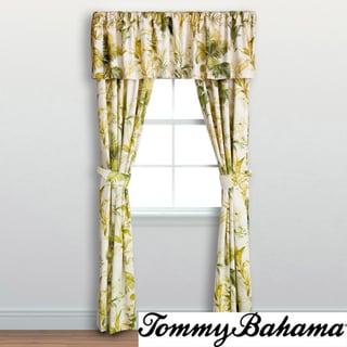 Tommy Bahama Island Botanical 4-piece 84 inch Drape Set