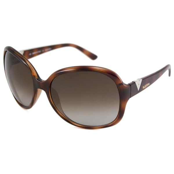 Valentino Women's V612S Rectangular Sunglasses