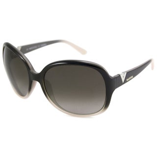 Valentino Women's V612S Rectangular Plastic Sunglasses