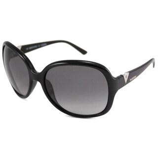 Valentino Women's Black V612S Rectangular Sunglasses