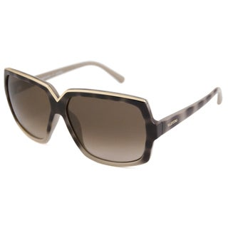 Valentino Women's V604S Italian Rectangular Sunglasses