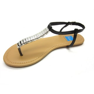 Blue Women's 'Debbie-Buckle' Sandals